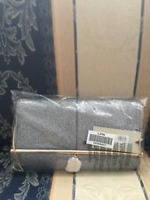 BRAND NEW!! River Island Silver Glitter Bar Front Foldover Clutch Bag!! Party on