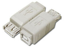 USB Type A to B Female to Female F/F Adapter Converter