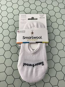 NWT Smartwool Womens Sneaker No Show White Size S