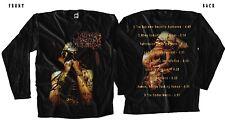 ANAAL NATHRAKH-The Codex Necro-extreme metal,T-shirt long sleeve-sizes:S to XXL