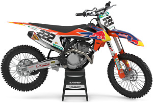 KTM SX 2019/2020/2021/2022 EXC 2020/2021/2022 Red Bull  factory graphics kit