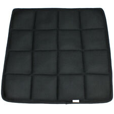 Breathable Bamboo Charcoal Seat Cover Cushion Car Pad Sponge Green Therapy Black