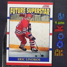 ERIC LINDROS  RC 1990-91  Score Canadian  #440  Philadelphia FLyers  ROOKIE  HOF