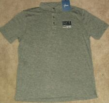 NCAA Navy Midshipmen Mens Charge Polo Small Carbon//Navy