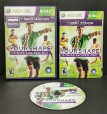 Your Shape: Fitness Evolved 2012 (Microsoft Xbox 360, 2011) Complete