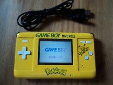 Custom pokemon Game Boy Macro XL Console - GBA Backlit Gameboy Advance