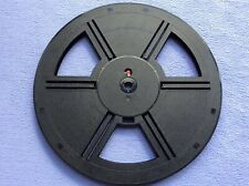 + Superb V V Rare Schneider Super 8mm Black Plastic Reel 1000ft Film Min Cap +