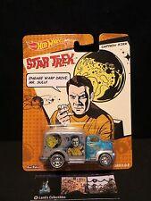 Captain Kirk Star Trek Hot Wheels Mattel 49 Ford C.O.E. 1/64 Car