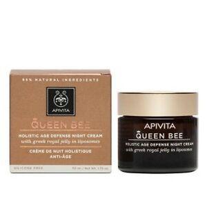 Apivita Queen Bee Holistic Age Defense Night Cream , 50ml