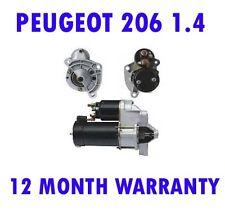 Peugeot 206 1.4 1.6 2000 2001 2002 2003 2004 2005 2006 - 2015 starter motor