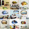 3D DIY Family Home Wall Sticker Removable Mural Decals Vinyl Art Room Home Decor