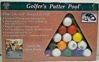 GOLFER'S PUTTER POOL-PLAYS LIKE GOLF-SHOOTS LIKE POOL by Club Champ NEW