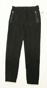 Old Navy Boy's Active Zipper Pocket Sweatpants NB7 Black Size XL 14-16 NWT