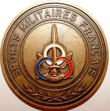 Medaille  Sports Militaire Francais