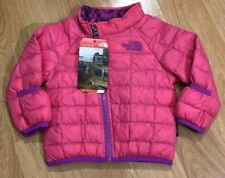 THE NORTH FACE THERMOBALL Jacket Baby Toddler Size 3-6 Months Pink Purple NEW!!