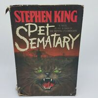 Pet Semetary by Stephen King 1st Edition/Early Printing 1983 HC / DJ Doubleday