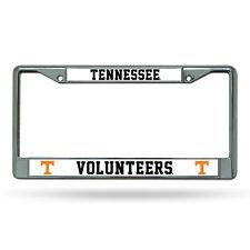 Tennessee Volunteers NCAA Chrome Metal License Plate Frame