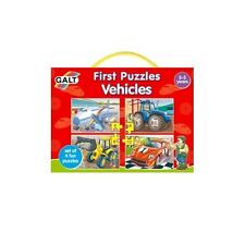 BRAND NEW 4 x VEHICLE PUZZLES 4,6,8,12 PCS - GR8 GIFT