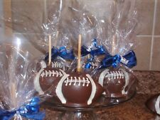 FOOTBALL CANDY CARAMEL CHOCOLATE APPLE/APPLES,FAVORS