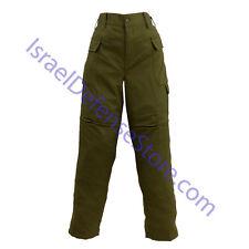 Israel IDF Army Heavy Duty Durable Combat Uniform Patch Pants Size M