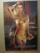 vintage Deanna Brooks 1998 playboy Original Poster 912