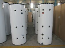 Stainless steel 300ltr Multi tapping buffer tank for dual boilers/heat pumps etc