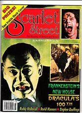 Scarlet Street Magazine Horror #26 Frankenstein Dracula Roddy McDowall