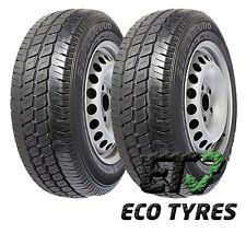 2X Tyres 205 70 R15C 106/104R 8PR HIFLY super2000 E C 72dB