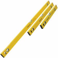 3 PIECE BUILDERS SPIRIT LEVEL SET - 400, 600 & 1000mm
