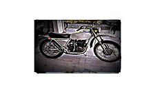 1972 Ossa Yankee Twin Bike Motorcycle A4 Photo Poster