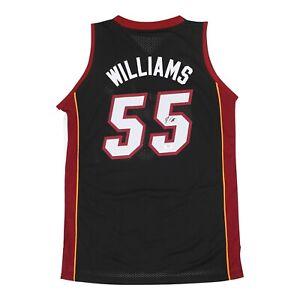 Jason Williams signed 2005-06 Adidas Miami Heat Soul Swingman Jersey PSA/DNA