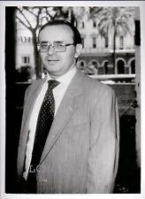 FOTOGRAFIA PRESS PHOTO VINTAGE ROMA 1993 IL GIUDICE PIERCAMILLO DAVIGO POOL **