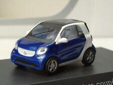 Busch Smart Fortwo Coupe, blau metallic,  PC 276 - 1:87