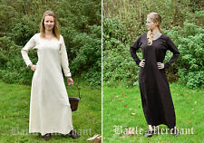 Battle Merchant Mittelalterkleid Rebecca Kleid Unterkleid Mittelalter LARP S-3XL