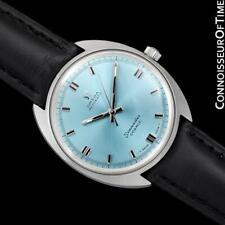 1960's OMEGA Vintage Mens Seamaster Cosmic Tiffany Blue Dial - Mint w/ Warranty