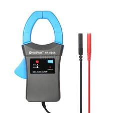 Portable 600A DC AC Current Clamp Adapter Clamp-On Meter with Test Probes F6H7