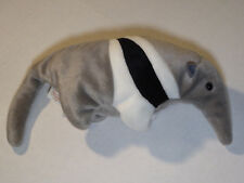 """Ty Beanie Babies Ants Anteater (1997) 8"""" Plush Toy w/Tush Tag Very Good"""