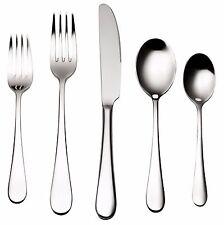 Bruntmor, ALBA Silverware Royal 45 Piece Flatware Cutlery Set, 18/10 Stainless S