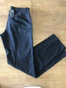 Nike Flex Golf Pants Black AJ5489-010 Standard Fit Mens Size 34x34