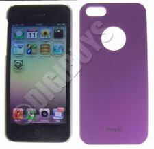 Fundas y carcasas lisas de plástico de color principal morado para teléfonos móviles y PDAs