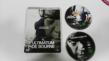 JASON BOURNE EL ULTIMATUM DE BOURNE 2 DVD MATT DAMON STEELBOOK CAJA METALICA