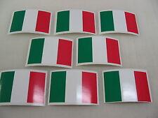 8 ITALIAN FLAG Sticker Decal LOT 4 boat car Window Truck suv Wholesale ITALY