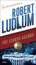 Robert Ludlum The Icarus Agenda Terrorists Conspiracies Thriller Paperback