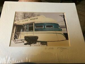 "Allan I.Teger Signed Color photograph  ""New Salem Diner"""
