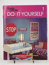 Family Circle Do It Yourself Encyclopedia Vol 1 1973 Hardcover