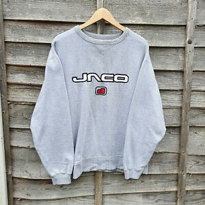 Vintage 90s Jaco Spellout Embroidered Oversized Sweatshirt From USA