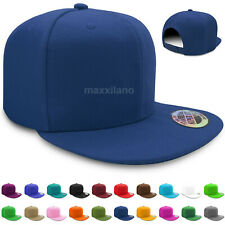 Baseball Cap for Men Plain Solid Snapback Hats Classic Hip Hop Hat Adjustable