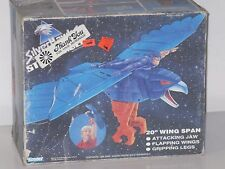 Vintage 1980's SIlVERHAWKS (STRONGHOLD) Steelwill's Bird (MIB) Unused Contents