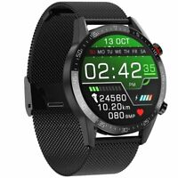 Smartwatch Bluetooth Armband Blutdruck Heart Rate Sport Stoppuhr Fitness Tracker