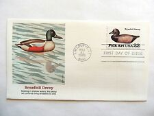 """March 22nd, 1985 """"Broadbill Decoy"""" First Day Issue"""